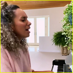 Leona Lewis Sings 'Better in Time' at Home to Remind Fans That Things Will Get Better (Video)