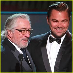 Leonardo DiCaprio & Robert De Niro Are Latest Celebs to Take On All In Challenge