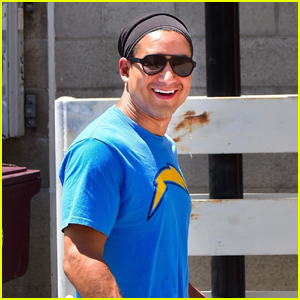 Mario Lopez Heads Out for a Workout Amid Quarantine