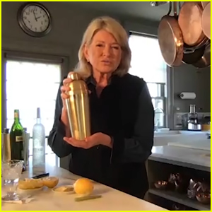 Martha Stewart Teaches Seth Meyers How To Make The Perfect Martini During Quarantine - Watch Here!