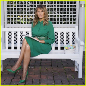 First Lady Melania Trump Reads Easter Story 'The Little Rabbit' - Watch (Video)