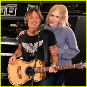 Nicole Kidman Joins Keith Urban During His One World Performance - Watch!