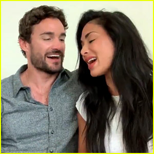 Nicole Scherzinger & Boyfriend Thom Evans Sing a Duet for His Birthday! (Video)