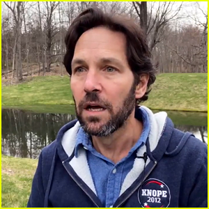 Paul Rudd Introduces the 'Parks & Rec' Special as His Character Bobby Newport! (Video)