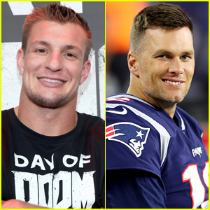 Rob Gronkowski Reacts to Tom Brady's Statement About His Manhood