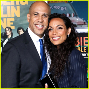 Rosario Dawson & Cory Booker Aren't Quarantining Together During Pandemic