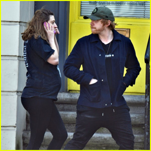 Rupert Grint & Girlfriend Georgia Groome Step Out to Grab Essentials Amid Pandemic