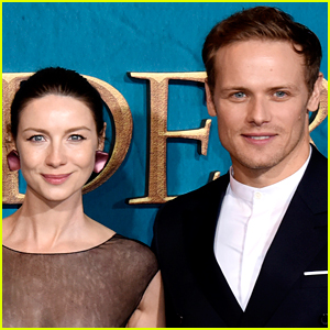 Caitriona Balfe Jokes About What She Got Sam Heughan for His Birthday!