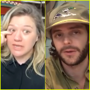 Kelly Clarkson Tears Up While Thomas Rhett Tells Her the Story of His Daughter's Adoption