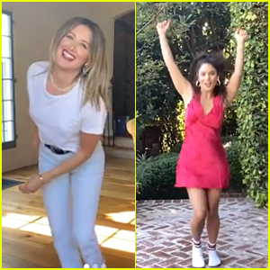 Vanessa Hudgens & Ashley Tisdale Share Bloopers From 'We're All In This Together' Performance