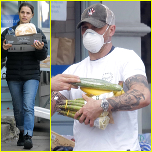 Tom Hardy & Charlotte Riley Shop For Groceries in London