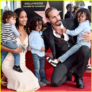 Zoe Saldana Shares Funny Video of Marco Perego Trying to Mediate Fight Between Twin Sons!