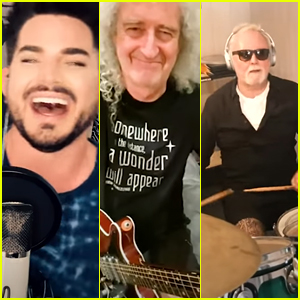 Adam Lambert & Queen Record New Version of 'We Are The Champions' Dedicated to Frontline Workers