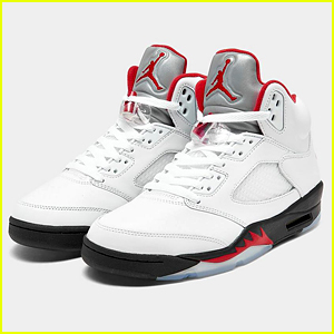 The New Air Jordan 5 Fire Red Shoes Are Out Now - Buy Here!