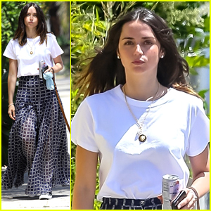 Ana de Armas Snaps Cute Selfie While On A Walk With Dog Elvis