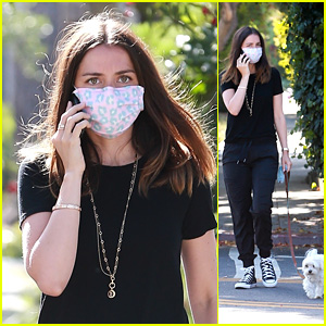 Ana de Armas Goes for a Solo Stroll With Her Dog Amid Quarantine in LA