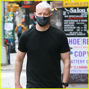 New Dad Anderson Cooper Steps Out After Announcing Son's Birth