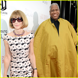 Former Vogue Creative Director Andre Leon Talley Says His Current Relationship With Anna Wintour is 'Icy'