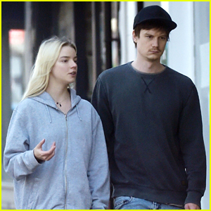 Anya Taylor-Joy & Boyfriend Ben Seed Step Out For Fresh Air in London