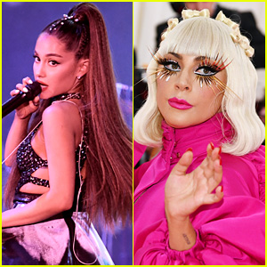 Ariana Grande Opens Up About 'Dipping a Toe Into' Lady Gaga's World With 'Rain on Me' - Watch!