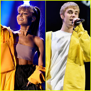 Ariana Grande & Justin Bieber Announce Charity Song 'Stuck With U' - Get the Details!