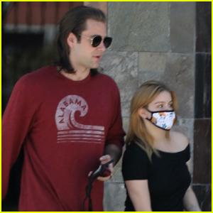 Ariel Winter is Joined by Boyfriend Luke Benward for Dermatologist Appt
