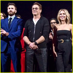 Chris Evans, Robert Downey Jr, & Scarlett Johansson Have Virtual Reunion During Kids' Choice Awards 2020!