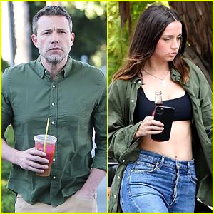 Ben Affleck & Ana de Armas Are Sharing the Same Shirt!