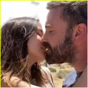 Ben Affleck & Girlfriend Ana de Armas Kiss in Residente Music Video - Watch!