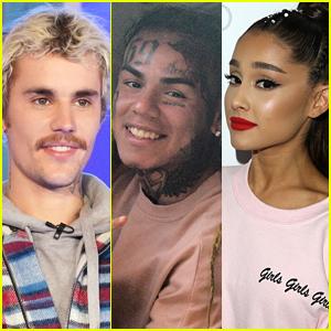 Billboard Responds to Tekashi 6ix9ine's Allegations That Justin Bieber & Ariana Grande Bought Their Number 1 Spot