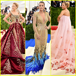 Blake Lively's Met Gala Outfits Matched the Carpet Color, Three Years in a Row!