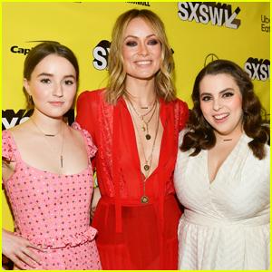 Olivia Wilde, Beanie Feldstein, & Kaitlyn Dever Celebrate One Year Since 'Booksmart' was Released!