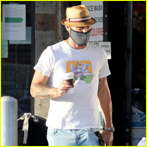 Brian Austin Green Grabs a Coffee to Go Amid Pandemic in Malibu