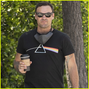 Brian Austin Green Visits Same Coffee Shop Wife Megan Fox Stopped By with Machine Gun Kelly