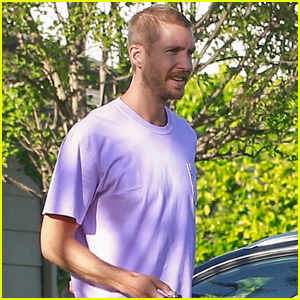 Calvin Harris Hangs Out with Friends After Revealing He Nearly Died in 2014
