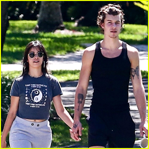 Shawn Mendes & Camila Cabello Soak Up the Sun During a Saturday Stroll