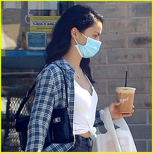 Camila Mendes Hangs With Friends After Picking Up Take Away