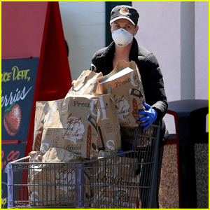 Charlize Theron Loads Up on Groceries While Out in WeHo