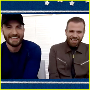Chris Evans & Brother Scott Do the Siblings Version of the Couples Challenge (Video)
