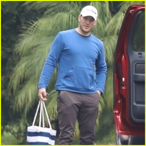 Chris Pratt Brings His Son Jack to Mother-In-Law Maria Shriver's House on Mother's Day