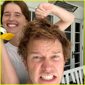 Chris Pratt Gets a Quarantine Haircut from Katherine Schwarzenegger - See the New Look!