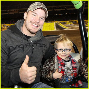 Chris Pratt's Son Jack Gasped in Shock When He Saw This on His Phone
