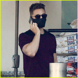 Colton Haynes Steps Out to Do Some Shopping in West Hollywood