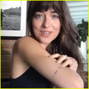 Dakota Johnson Picks Between Jamie Dornan or Christian Grey - Watch! (Video)