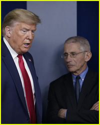 Trump & Dr. Fauci Clash When It Comes to Wearing Masks at News Briefing