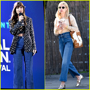 desmayarse linda evaporación  7 For All Mankind Launches Huge Memorial Day Sale – Get the Jeans These  Celebs Wore! | Dakota Johnson, Emma Roberts, Shopping | Just Jared