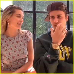 Hailey Bieber Remembers Her First Kiss With Justin Bieber