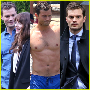 Celebrate Jamie Dornan's Birthday With These Flashback Photos from the 'Fifty Shades' Set!