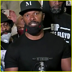Jamie Foxx Joins the Protests in Minneapolis, Demands Justice for George Floyd