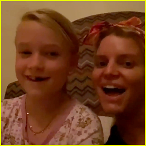 Jessica Simpson Sings with Daughter Maxwell on Her 8th Birthday - Watch Now!